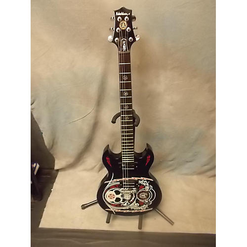 Washburn Scott Ian Signature Solid Body Electric Guitar obey graphic