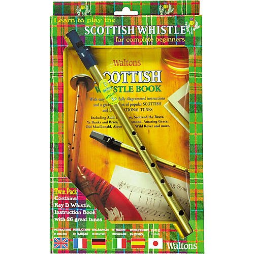 Waltons Scottish Tin Whistle Value Pack-thumbnail