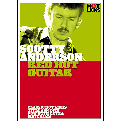 Hot Licks Scotty Anderson: Red Hot Guitar DVD-thumbnail
