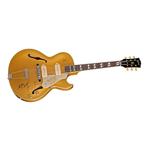 Gibson Scotty Moore 1952 ES-295 Electric Guitar Bullion Gold