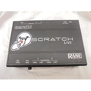 Pre-owned Rane Scratch Live DJ Controller by Rane