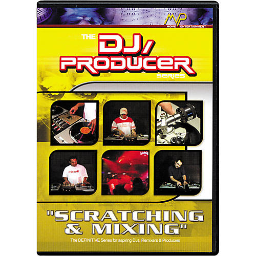 MVP Scratching and Mixing DVD