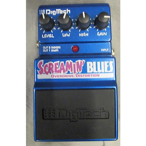 Digitech Screamin' Blues Overdrive Effect Pedal