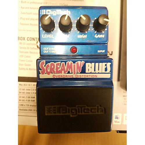 Digitech Screamin' Blues Overdrive Effect Pedal-thumbnail