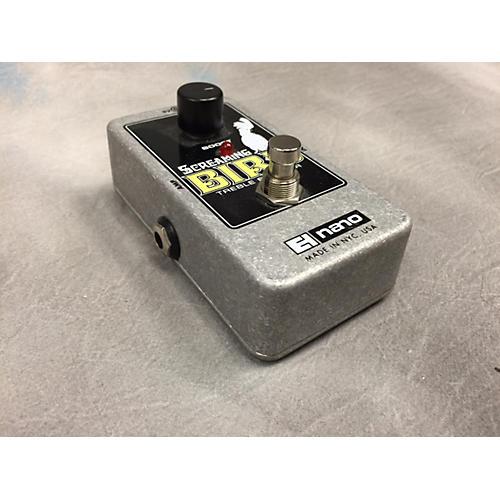 Electro-Harmonix Screaming Bird Treble Booster Effect Pedal-thumbnail