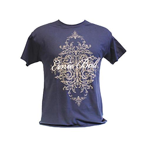 Ernie Ball Script Logo T-Shirt Blue Large