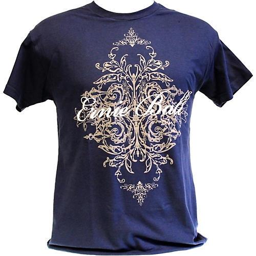 Ernie Ball Script Logo T-Shirt Blue X Large