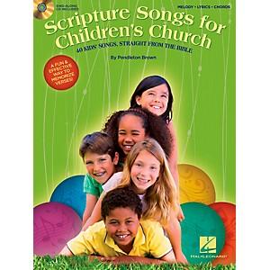 Hal Leonard Scripture Songs For Children's Church - 40 Kids' Songs Straight... by Hal Leonard