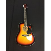 Indiana Sct-ce-vs Acoustic Electric Guitar