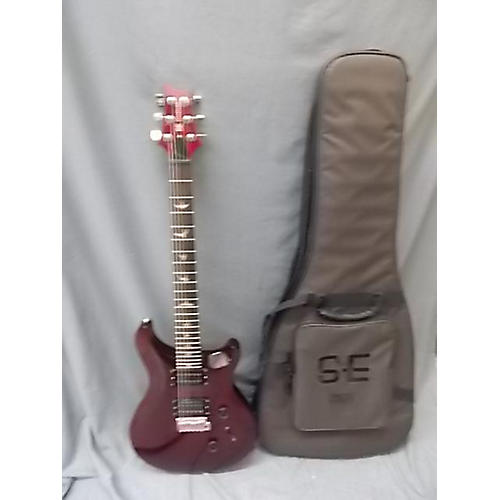 PRS Se Standard 24 Solid Body Electric Guitar cherry red