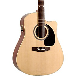 Seagull Coastline Series S6 Slim Cutaway Dreadnought QI Acoustic-Electric Guitar