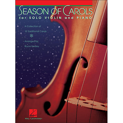 Hal Leonard Season Of Carols (Easy Solo Violin And Piano)