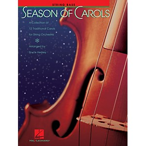 Hal Leonard Season of Carols String Orchestra - String Bass Music for Str...