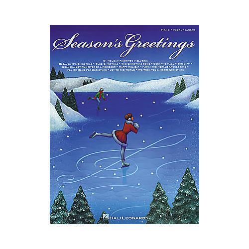 Hal Leonard Season's Greetings Piano, Vocal, Guitar Songbook
