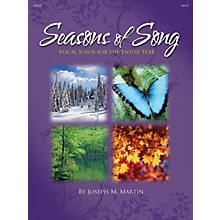 Shawnee Press Seasons of Song Shawnee Press Series Softcover with CD  by Joseph M. Martin