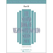 G. Schirmer Second Book Of Mezzo-Soprano / Alto Solos Part 2 Book Only