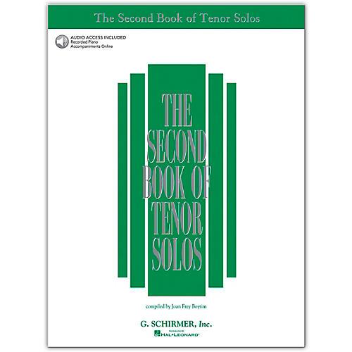 G. Schirmer Second Book Of Tenor Solos Book/ 2CD Pkg