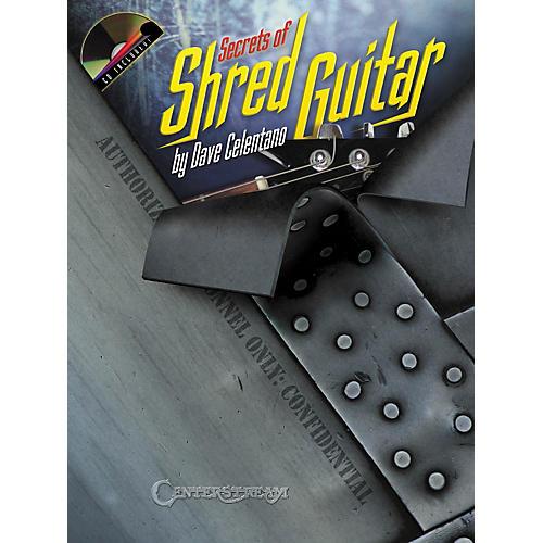 Hal Leonard Secrets of Shred Guitar Book and CD
