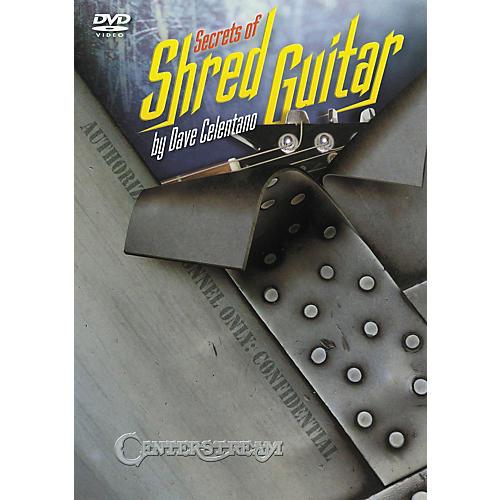 Centerstream Publishing Secrets of Shred Guitar DVD