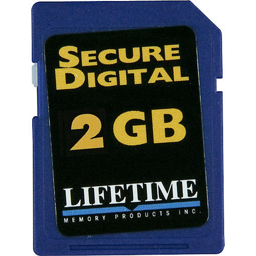 Lifetime Memory Products Secure Digital Card