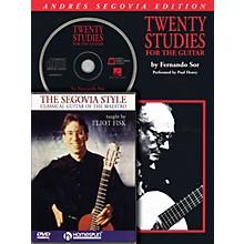Homespun Segovia Guitar Bundle Pack Homespun Tapes Series Performed by Andrés Segovia