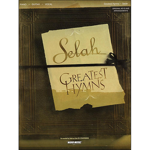 Word Music Selah - Greatest Hymns arranged for piano, vocal, and guitar (P/V/G)-thumbnail