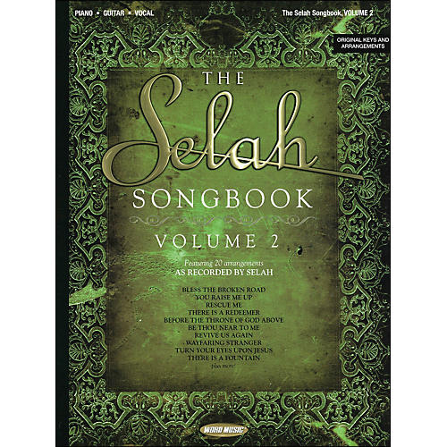 Word Music Selah Songbook Volume 2 arranged for piano, vocal, and guitar (P/V/G)-thumbnail