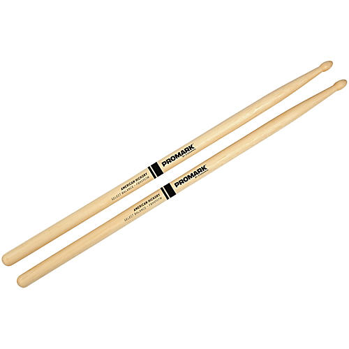 PROMARK Select Balance Forward Balance Wood Tip Drum Sticks .595 in. Diameter Forward Balance