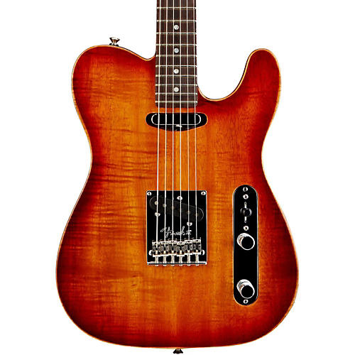 Fender Select Koa Top Telecaster Electric Guitar-thumbnail