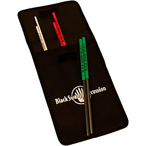 Black Swamp Percussion Select Triangle Beaters with Nylon Case by Black Swamp Percussion