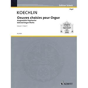 Schott Selected Organ Works Volume 1 Schott Series Composed by Charles Ko... by Schott