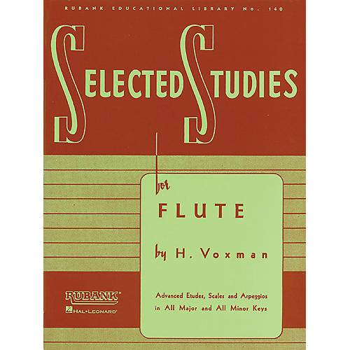 Hal Leonard Selected Studies For Flute-thumbnail