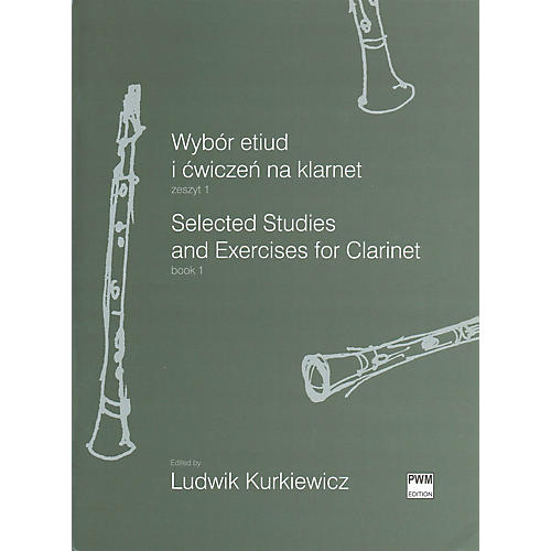 PWM Selected Studies and Exercises for Clarinet Book 1 PWM Series Softcover