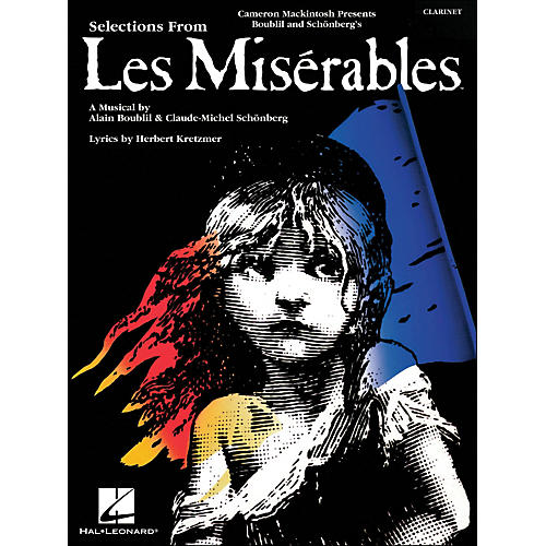 Hal Leonard Selection From Les Miserables for Clarinet-thumbnail