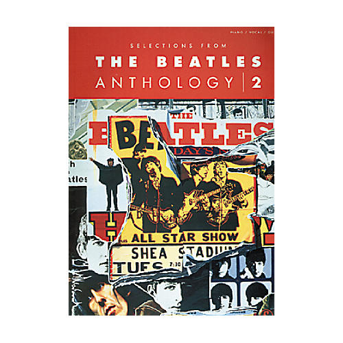 Hal Leonard Selections From Beatles Anthology Volume 2 Book