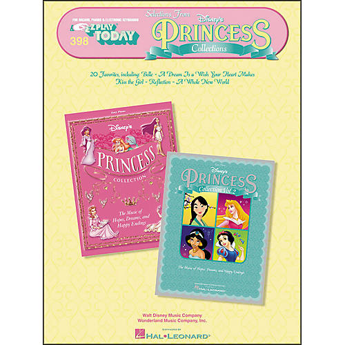 Hal Leonard Selections From Disney's Princess Collections E-Z Play 398-thumbnail