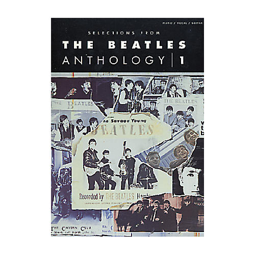 Hal Leonard Selections From The Beatles Anthology 1 Book