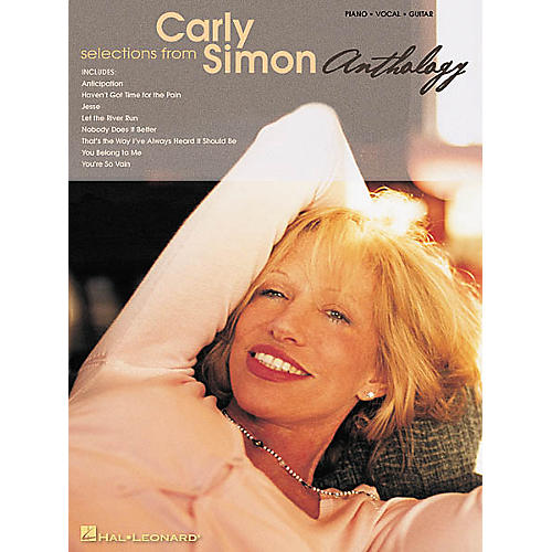 Hal Leonard Selections from Carly Simon Anthology Piano, Vocal, Guitar Songbook
