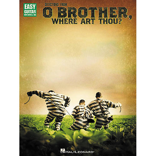 Hal Leonard Selections from O Brother Where Art Thou Easy Guitar Tab Songbook-thumbnail