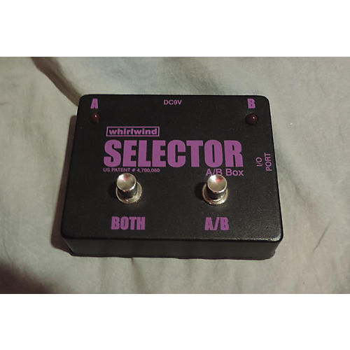 Whirlwind Selector AB Box Pedal-thumbnail