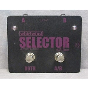 Pre-owned Whirlwind Selector AB Box Pedal by Whirlwind