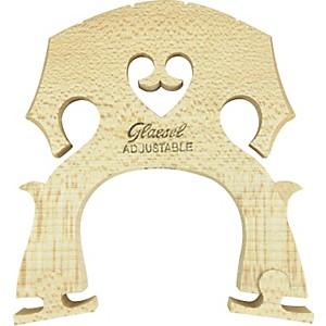 Glaesel Self-Adjusting 1/2 Cello Bridge