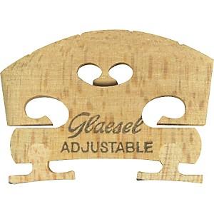 Glaesel Self-Adjusting 1/2 Violin Bridge by Glaesel