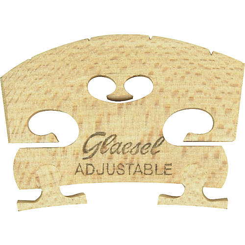Glaesel Self-Adjusting 4/4 Violin Bridge-thumbnail
