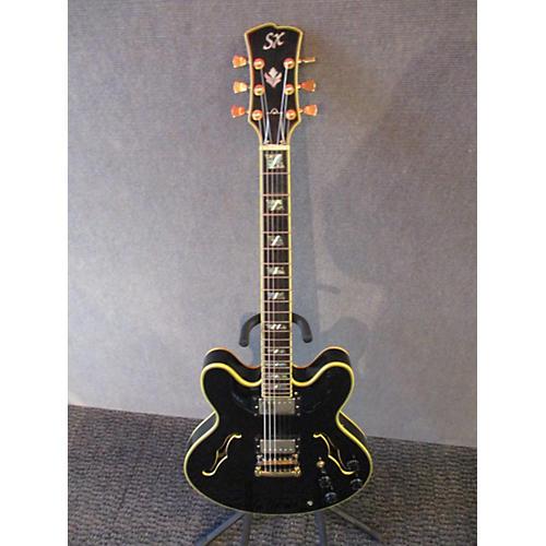 SX Semi-Hollow Hollow Body Electric Guitar-thumbnail