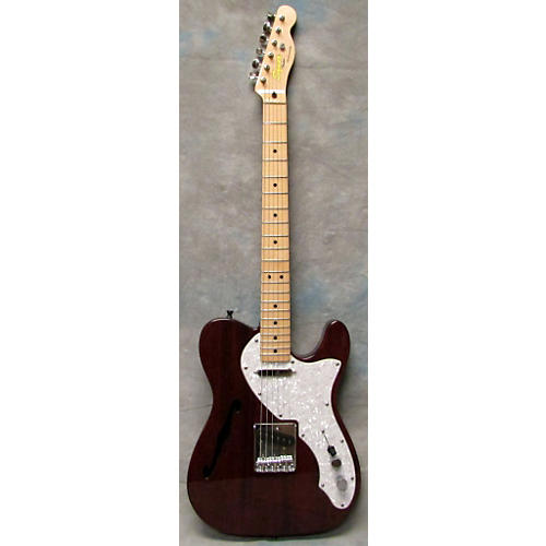 Squier Semi Hollow Telecaster Hollow Body Electric Guitar-thumbnail