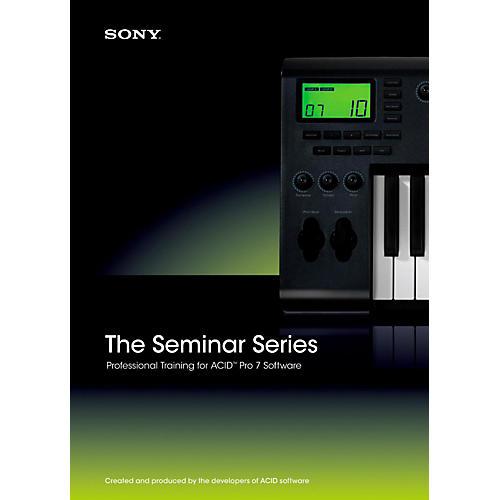 Sony Seminar Series: Sony ACID Pro 7-thumbnail