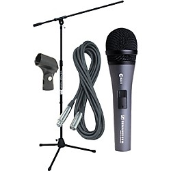 Sennheiser E822 MIC WITH STAND, CABLE & CLIP (KIT-270872)