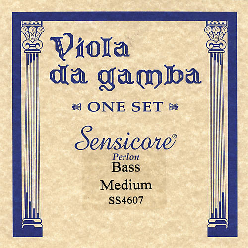 Super Sensitive Sensicore Bass Viola de Gamba Strings