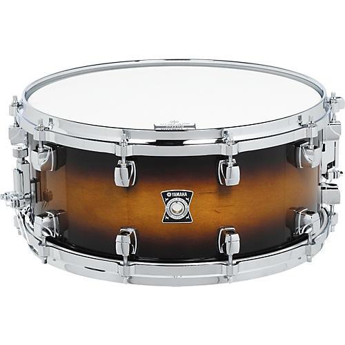 yamaha sensitive series snare drum 13 x 6 5 cherry wood guitar center. Black Bedroom Furniture Sets. Home Design Ideas